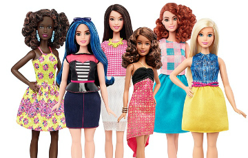Barbie's bold makeover by Sian Evans